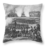 Battle Of Chapultepec Throw Pillow by Granger