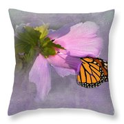 Beautiful In Pink Throw Pillow by Betty LaRue