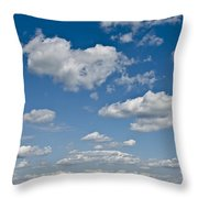 Beautiful Skies Throw Pillow by Bill Cannon