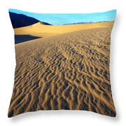 Beauty Of Death Valley Throw Pillow by Bob Christopher