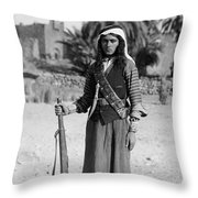 Bedouin Youth, C1926 Throw Pillow by Granger