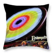 Beem Me Up Scotty Throw Pillow by David Lee Thompson