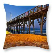 Before The Sun Throw Pillow by Betsy Knapp