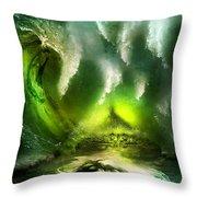 Beneath Throw Pillow by Svetlana Sewell
