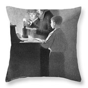 Bertrand Guillaume Carcel, French Throw Pillow by Science Source