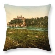 Beziers - France Throw Pillow by International  Images