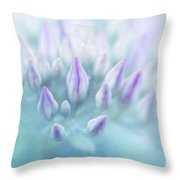 bientot Throw Pillow by Priska Wettstein