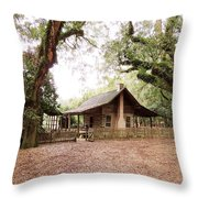 Big Bend Farmhouse Throw Pillow by Marilyn Holkham