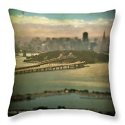 Big City Dreams Throw Pillow by Laurie Search