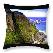 Big Sur IIi Throw Pillow by Ellen Heaverlo