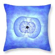 Black Hole Preceding Grb Event Throw Pillow by NASA / Science Source