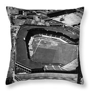 Boston: Fenway Park Throw Pillow by Granger