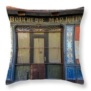 Boucherie Marjolin Throw Pillow by Andrew Fare