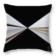 Bow Tie Throw Pillow by Cheryl Young