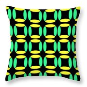 Boxes Throw Pillow by Louisa Knight