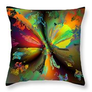 Break Away Throw Pillow by Claude McCoy