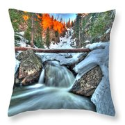 Break On Through Throw Pillow by Scott Mahon