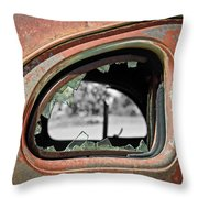 Breaking Through Time Throw Pillow by Steve McKinzie