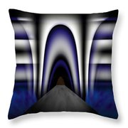 Bridge Over Troubled Waters Throw Pillow by Christopher Gaston