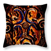 Bridging Heaven And Earth Throw Pillow by Susanne Still