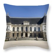 Brittany Parliament Throw Pillow by Jane Rix