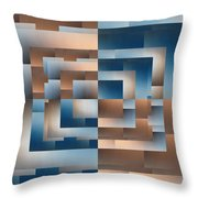 Brushed 12 Throw Pillow by Tim Allen