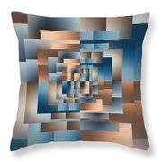 Brushed 16 Throw Pillow by Tim Allen