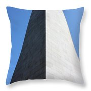 Bunker Hill Monument Throw Pillow by Kristin Elmquist