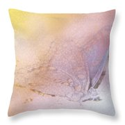Butterfly Abstract Throw Pillow by Joseph G Holland