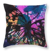 Butterfly Bliss Throw Pillow by Oddball Art Co by Lizzy Love