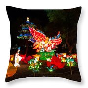 Butterfly Lovers Throw Pillow by Semmick Photo