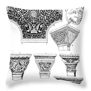 Byzantine Ornament Throw Pillow by Granger