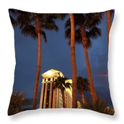 Caesars Palace 6 Throw Pillow by Jane Rix