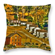 Camp Reynolds Angel Island Throw Pillow by Cheryl Young