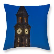 Can I Have The Time Please Throw Pillow by Susan Candelario