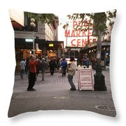 Can I Take Your Picture Throw Pillow by Kym Backland