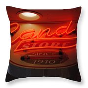 Candy Throw Pillow by Skip Willits