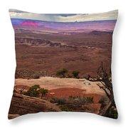 Canyonland Overlook Throw Pillow by Robert Bales