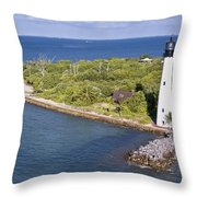 Cape Florida Throw Pillow by Patrick M Lynch