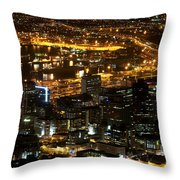 Cape Town Throw Pillow by Fabrizio Troiani