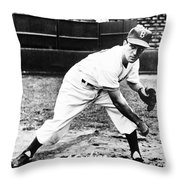 Carl Erskine (1926- ) Throw Pillow by Granger