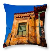 Casa De Las Brujas Throw Pillow by Skip Hunt