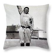 Casey Stengel (1891-1975) Throw Pillow by Granger