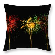 Celebration Throw Pillow by James Heckt