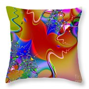 Celebration . S16 Throw Pillow by Wingsdomain Art and Photography