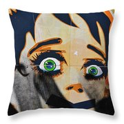 Censorship Throw Pillow by Harry Spitz