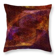 Centrifuge Throw Pillow by Christopher Gaston