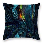 Certain Inner Peace Fx  Throw Pillow by G Adam Orosco
