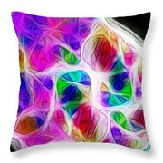 Chambers Of The Heart Throw Pillow by Judi Bagwell