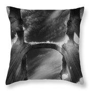 Chapel At Schloss Dargun Throw Pillow by Simon Marsden